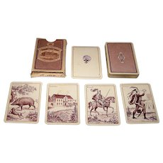 "J.O. Oberg & Son ""Prima Camfio Kort No. 386"" -- Kille-Type Playing Cards, c.1950s"