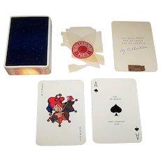 "Draeger Freres ""Ciel de France"" Playing Cards, Miro Company Publisher, Jacques Branger Designs, c.1950"