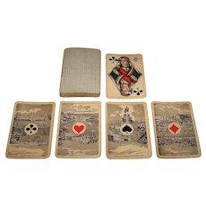 "VSSF ""Renaissance"" Skat Playing Cards, Portugese Aces, c.1890s"