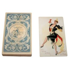 "Maclin-Zimmer-McGill ""Hard-A-Port"" Tobacco Insert Playing Cards, c.1890"