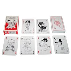 "ASS ""Polit-Poker"" Playing Cards, ""Bubec"" (Lutz Backes) Designs, 1990"