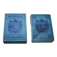 """Single Deck Editions Dusserre (Boechat Frères) """"Jeu Imperial – Napoleon III"""" Playing Cards, c.1987"""
