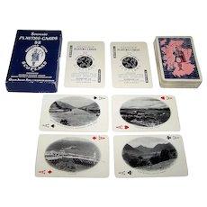 """De la Rue """"52 Selected Views of Scotland"""" Souvenir Playing Cards, Glen Alan, Ltd. Publ., Scottish Tourist Board Photographs, c.1962"""