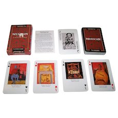 "Carta Mundi ""Artdeck Mexican"" Playing Cards, Aristoplay, Ltd. Publisher, Meadows & Wiser Designs, c.1993"