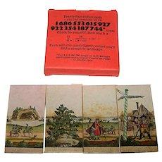 "Ria Holler ""Alphabet Myiorama"" Miniature Card Set, [Facsimile 19th Century Set], c.1977"