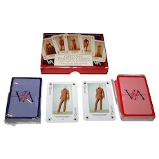 "Double Deck Victoria & Albert Museum ""Costume"" Playing Cards, Made in Germany (ASS?), c.1990"