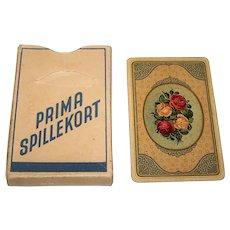 "Kruckow-Waldorff ""Prima Spillekort"" Hombre Playing Cards, c.1920-25"