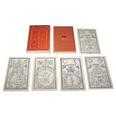 """Turnier GmbH, """"Hildesheimer Spielkarten von 1750"""" Facsimile Playing Cards, [Original: J. Friderich """"Leipziger Karten,"""" c.1750], Roemer-Pelizaeus-Museum, c.1975"""