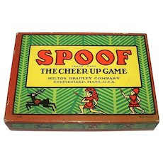 "Milton Bradley ""Spoof: The Cheer-Up Game"" Card Game, c.1918"