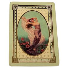 "USPC (Russell & Morgan Factories) ""No. 1 Bijou"" Playing Cards, Five Hundrd 11 and 12 Spots, c.1912"