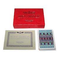 "Single Deck Fournier ""Ancient Civilisations"" Playing Cards, Celedonio Perellón Designs, c.1973"