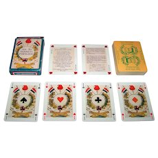 """Dusserre """"Jeu des Bonnets Phrygiens"""" Playing Cards, c.1980s"""