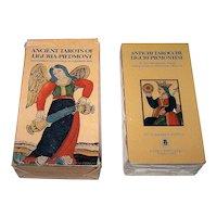 "Lo Scarabeo ""Ancient Tarots of Liguria-Piedmont"" Tarot Cards, c.1995"