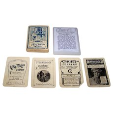 "Household Words Game Co. ""Household Words"" Card Game, Quartet Type, c.1916"