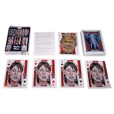 """Hondo Publishing LLC """"NeoCon Heroes"""" Playing Cards, Maker Unknown, Artist Unknown"""