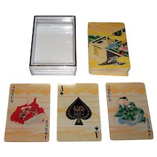 """Peacock Cards """"Japanese Classical Art"""" Playing Cards, Heian Period"""