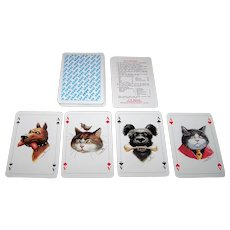 "F.X. Schmid ""Aras"" Skat Playing Cards, Manfred Deix Designs, c.1995"