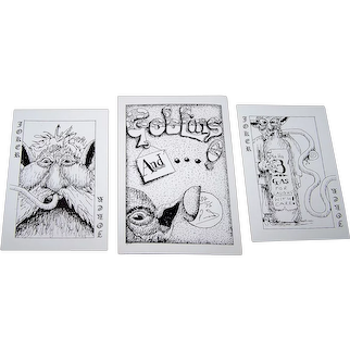 "Peter Wood ""Goblins And . . . !"" Playing Cards, Signed and Numbered Ltd. Ed. (34/75), Peter Woods Designs"