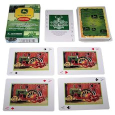 "Jiangsu Santu ""John Deere Collectible Playing Cards"""