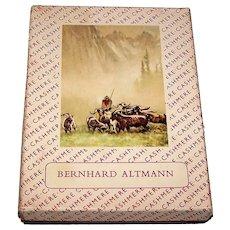 "Piatnik ""Bernard Altmann: Cashmere"" Playing Cards, Hans Lang Designs, c.1950"