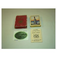 "USPC ""Souvenir Playing Cards of South Africa,"" South African Railways and Harbours Publisher,  c.1905"