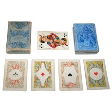 "Dondorf ""Kinder Spielkarten"" No. 25 (""Children's Playing Cards"") Mini-Patience Playing Cards, c.1880"