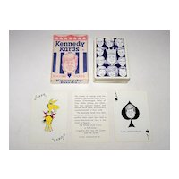 """Humor House, Inc. """"Kennedy Kards"""" Playing Cards, c.1963"""