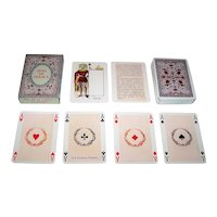 """Grimaud """"Rois de France"""" Playing Cards, [Original Printed by Grimaud as """"Jeu Historique"""" in 1856], Reprint c.1969"""