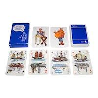"Carta Mundi ""Sigma Coatings"" Maritime Playing Cards, Jan Sanders Designs, c.1980"