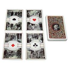 "Muller ""Wagner"" Jass Playing Cards, Melchior Annen Designs, Ltd. Ed. (___ /500), c.1968"