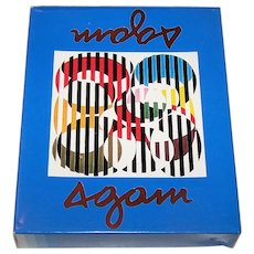 """Double Deck """"Yaacov Agam"""" Playing Cards"""