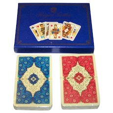 "Double Deck ASS ""Royal Gothic"" (""Dondorf Centennial"") Playing Cards, c.1975"