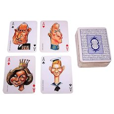 """""""El Jueves"""" Playing Cards, Jorge Gines Soteras aka """"Gin"""" Designs, c.1988"""