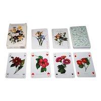 "Heron ""Jeu des Fleurs"" Playing Cards, Marie-France Gary Designs"