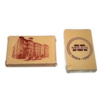 "Brown & Bigelow ""Miles 1884-1984"" Playing Cards, 100th Anniversary Miles Laboratories, c.1984"