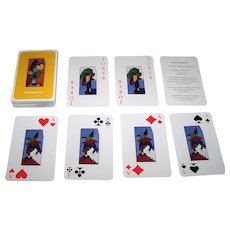 "Heidelberg ""Lacquer"" Playing Cards, Otmar Alt Designs, c.1992"