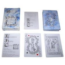 """Renaissance"" Playing Cards, Maxim Hurwicz Designs"