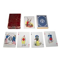"USPC ""Vanity Fair"" Transformation Playing Cards, c.1895"