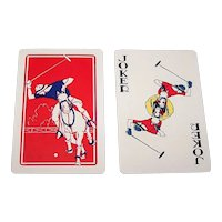 """Western Playing Card Co. """"Polo"""" Playing Cards, c.1930"""