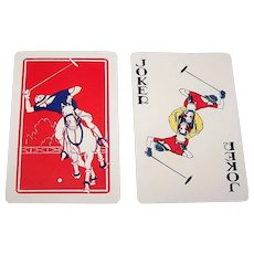 "Western Playing Card Co. ""Polo"" Playing Cards, c.1930"