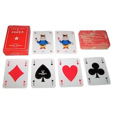 "Marca Stella ""Carte da Gioco da Poker"" Playing Cards"