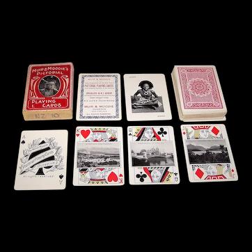 """Muir & Moodie's Pictorial Playing Cards,"" Muir & Moodie Publisher, Bavarian Printer, c.1912"