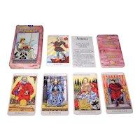 "Lo Scarabeo ""Tarocchi Del Millennio 2000"" Tarot Cards, Major Arcana Only, Tarocchi D'Arte Series, c.2000"