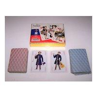 """Double Deck Piatnik """"Pushkin"""" Playing Cards, V. Mishin Designs, c.1998"""