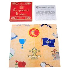 """Russia """"Puzzle"""" Fortune Telling Cards"""
