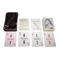 """Geo. B. Doan & Co. """"WorthWhile"""" Card Game, c.1904"""