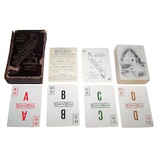 "Geo. B. Doan & Co. ""WorthWhile"" Card Game, c.1904"