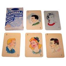 """Ambos Mundos Trading CIA """"Samoana Fortune Telling Cards,"""" c.1949"""