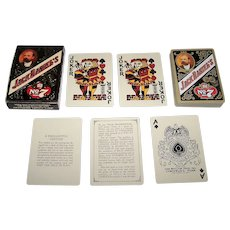 "Brown & Bigelow (Hoyle?) ""Jack Daniel's Old No.7"" Playing Cards, Full Size Edition, c.1972?"