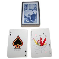 """Double Deck Brown & Bigelow (Redislip) """"Inclinator Company of America"""" Advertising Playing Cards, c.1950s"""